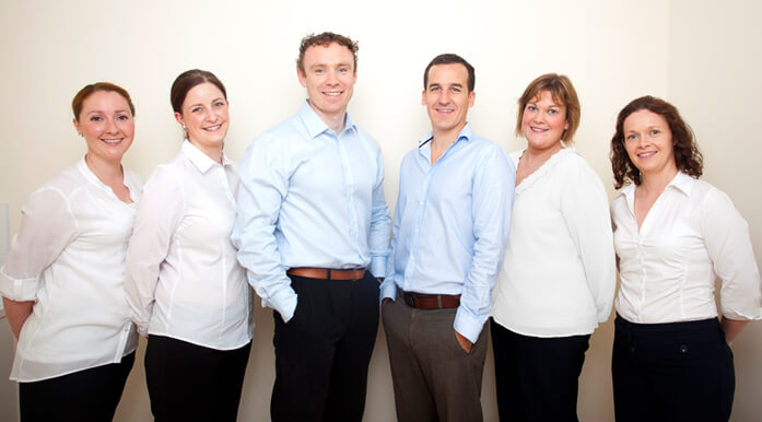Renmore Dental Team Photo